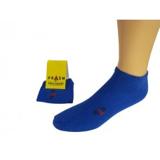 Men's No Show PRASM Low-Cut Ankle Socks - Blue (Single Pair)