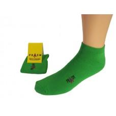 Men's Low-Cut PRASM Low-Cut Ankle Socks - Bright Green (3-pack)