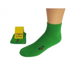 Men's Anklet PRASM Low-Cut Ankle Socks - Bright Green (3-pack)