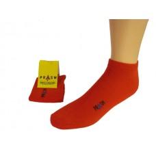 Men's Low-Cut PRASM Low-Cut Ankle Socks - Bright Red (3-pack)