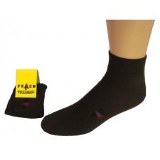 Men's Anklet PRASM Low-Cut Ankle Socks - Dark Brown (Single Pair)