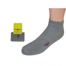 Men's Low-Cut PRASM Low-Cut Ankle Socks - Dark Grey (Single Pair)