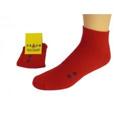 Men's Anklet PRASM Low-Cut Ankle Socks - Dark Red (Single Pair)