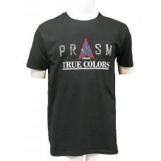 Men's Rhinestone Short-sleeve T-Shirt - Black