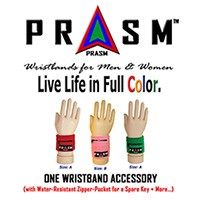 Unisex Zipper-Pocket Wristbands